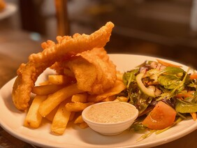 Blue Cod & Chips